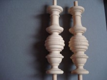 Wooden Spindles  0034