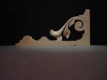 Decorative Wooden Corbels 0064