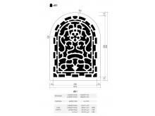 Plaster Air Vent Ventilation Grille A01
