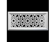 Plaster Air Vent Cover - Grill for individual assembly P02 + FRAME 395mmx184mm