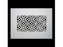 Plaster Air Vent Cover P7- Grilles are installed in 12.5mm plasterboards
