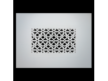 Plaster Air Vent Cover P15- Grilles are installed in 12.5mm plasterboards