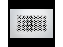 Plaster Air Vent Cover P31- Grilles are installed in 12.5mm plasterboards
