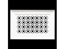 Plaster Air Vent Cover - Grill for individual assembly P31 + FRAME 365mmx 245mm