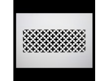 Plaster Air Vent Cover P43- Grilles are installed in 12.5mm plasterboards