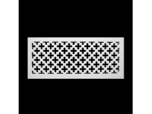 Plaster Air Vent Cover - Grill for individual assembly P43/p43 360mmx150mm