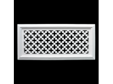 Plaster Air Vent Cover - Grill for individual assembly P43 + FRAME 395mmx184mm