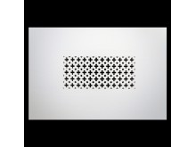 Plaster Air Vent Cover P49- Grilles are installed in 12.5mm plasterboards