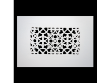 Plaster Air Vent Cover P50- Grilles are installed in 12.5mm plasterboards