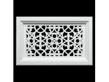 Plaster Air Vent Cover - Grill for individual assembly P50 + FRAME 295mm x 195mm