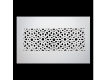 Plaster Air Vent Cover P4- Grilles are installed in 12.5mm plasterboards