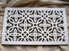 Plaster Air Vent Cover Ventilation Grille for self-assembly P06/p06 size 300mm x 150mm