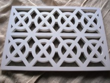 Plaster Air Vent Cover Ventilation Grille for self-assembly A9/d09 size 280mm x 200mm