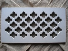 Plaster Air Vent Cover Ventilation Grille for self-assembly A5/d05 size 300mm x 162mm