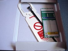 Scafftag Tower holder and inserts Tag Kit1+1 eco Postage Fast & Free